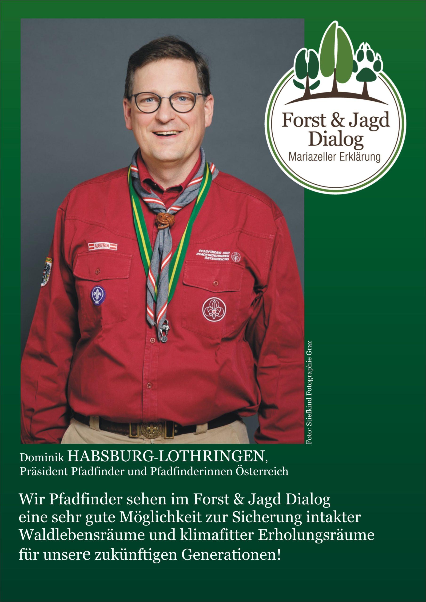 Partner & Prominente Stimmen, Forst & Jagd Dialog Österreich